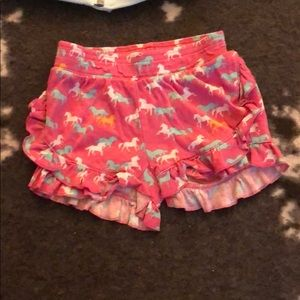 Garnet hill pink pony shorts size 4